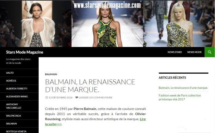 Stars Mode Magazine